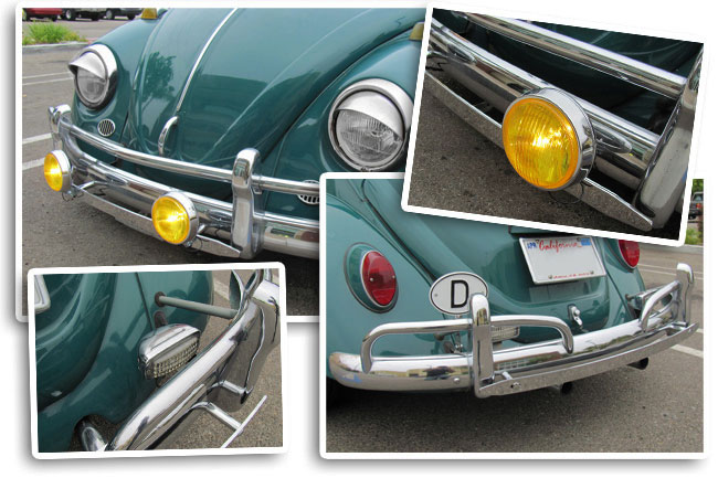 Tony's 1967 Beetle with Fog Light Bar