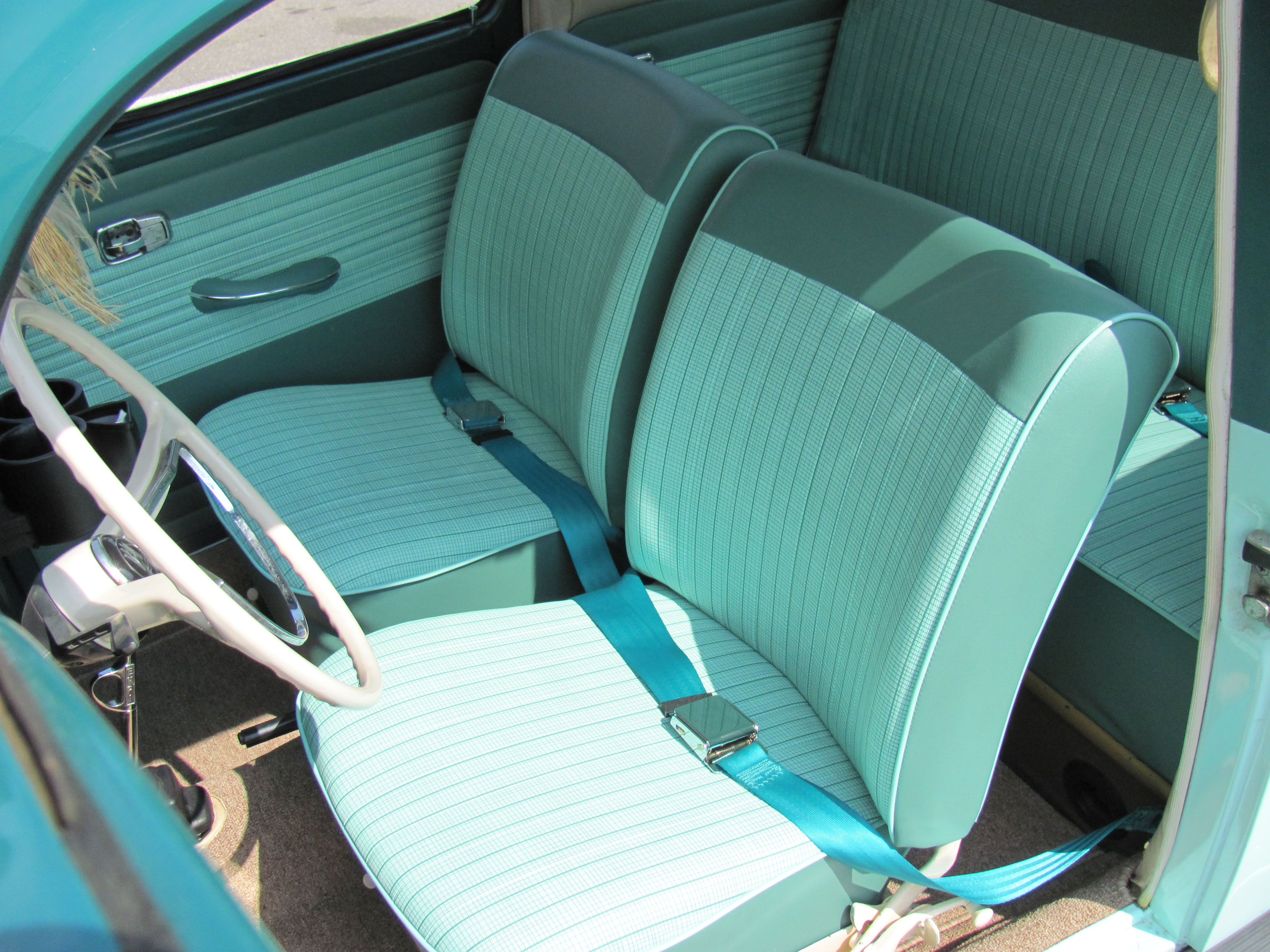 1965 vw bug seat covers vw seat pads jbugs. Black Bedroom Furniture Sets. Home Design Ideas