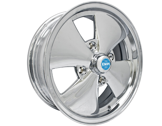 vw empi 4 spoke wheel 4 x 130 chrome each. Black Bedroom Furniture Sets. Home Design Ideas