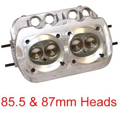 VW Cylinder Heads: 1300cc - 1600cc: VW Parts   JBugs com