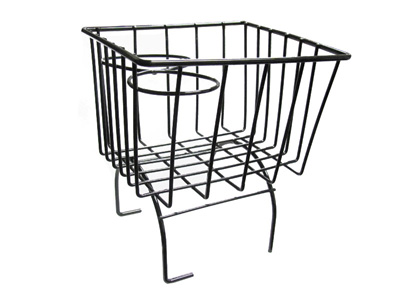 vw wireframe hump basket vw hump basket black 1967 VW Squareback vw wireframe hump basket black has been added to your cart