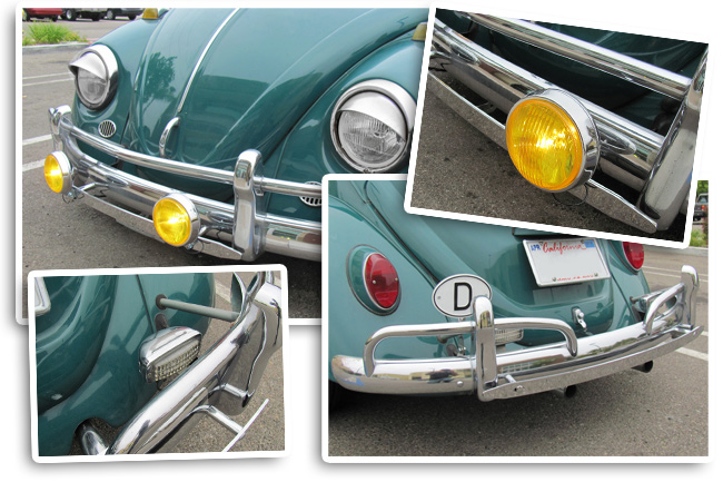 Vw Fog Amp Back Up Lights Jbugs