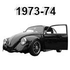 vw bug sedan/sunroof wiring harnesses 1973-1974
