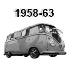 vw bus wiring harnesses 1958-1963