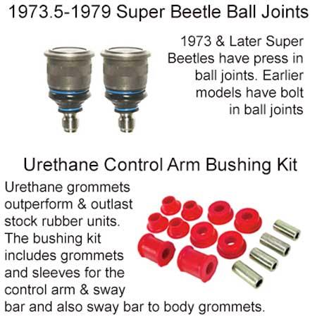 Vw Super Beetle Ball Joints Control Arm Bushings