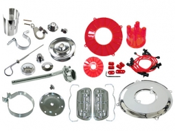 Empi 8741 Deluxe Chrome VW Aircooled Engine Dress Up Kit