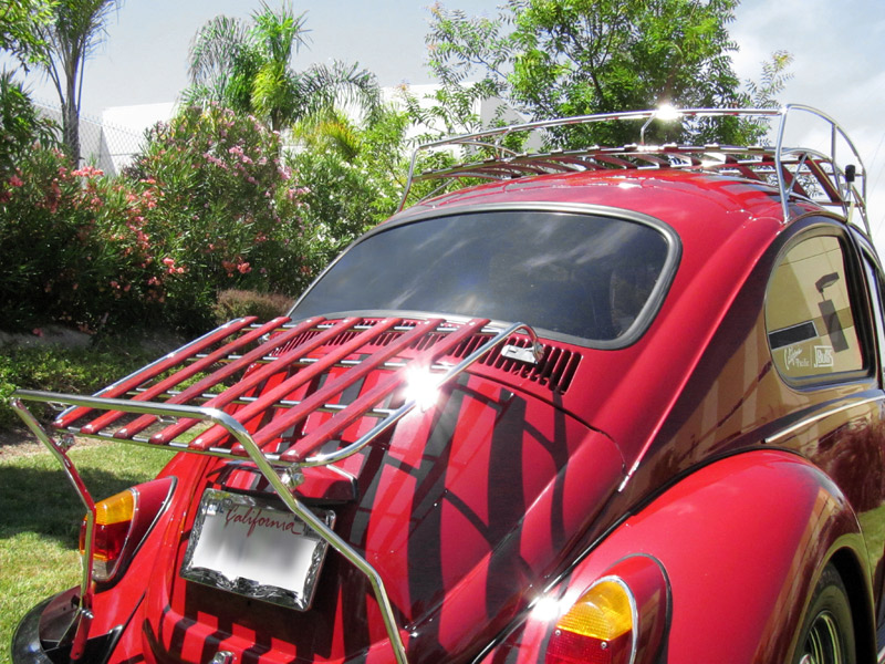 VW Roof Racks, VW Decklid Racks -JBugs