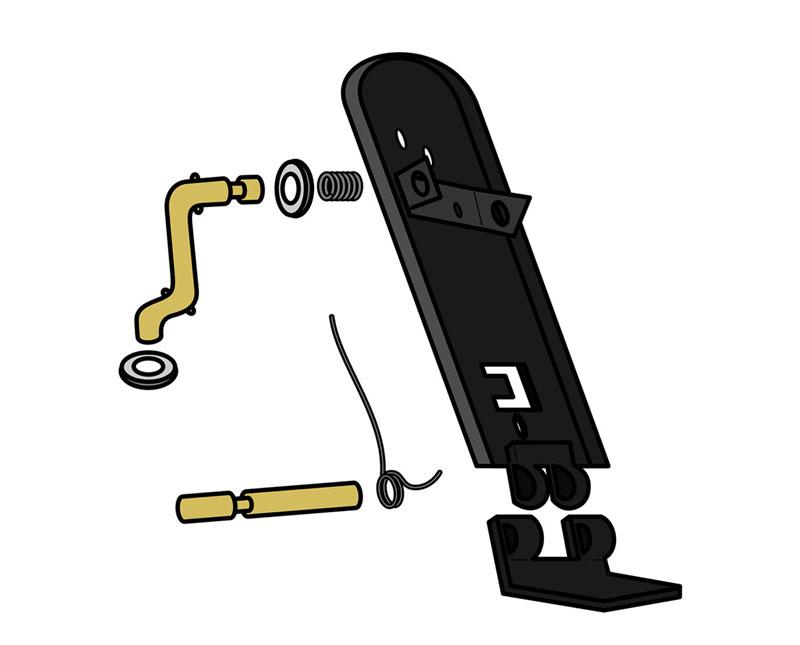 Accelerator Repair Kit  Vw Parts