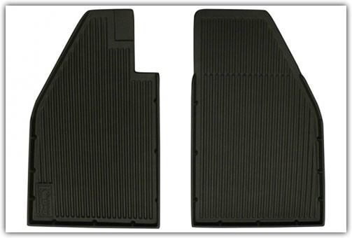 1958-1975 VW Beetle Front Only Rubber Floor Mats