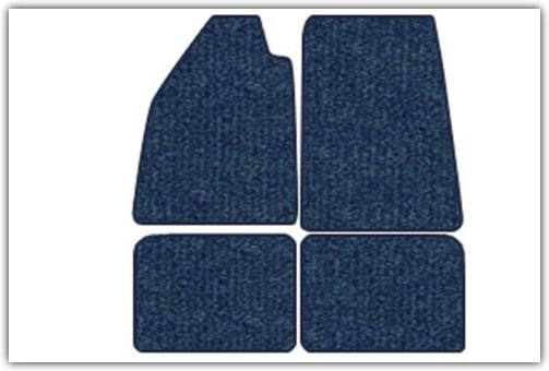 1961-1974 VW Type 3 4-Piece Carpeted Floor Mats