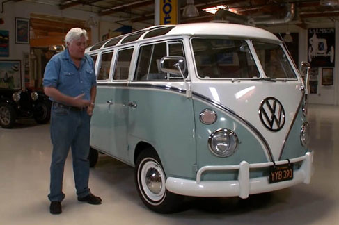 Jay Leno and Classic VW Bus