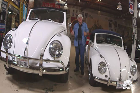 Jay Leno and the Huge Bug
