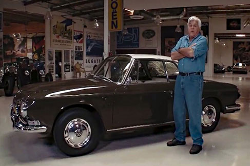 Jay Leno and Classic VW Karmann Ghia