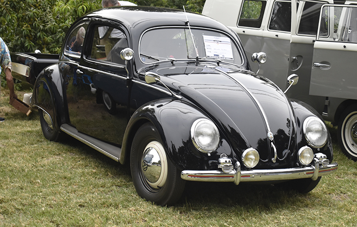This restored 1951 VW Beetle is a top tier show car.