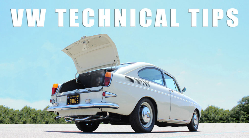 vw tech tip directory jbugs technical tips for air cooled vws