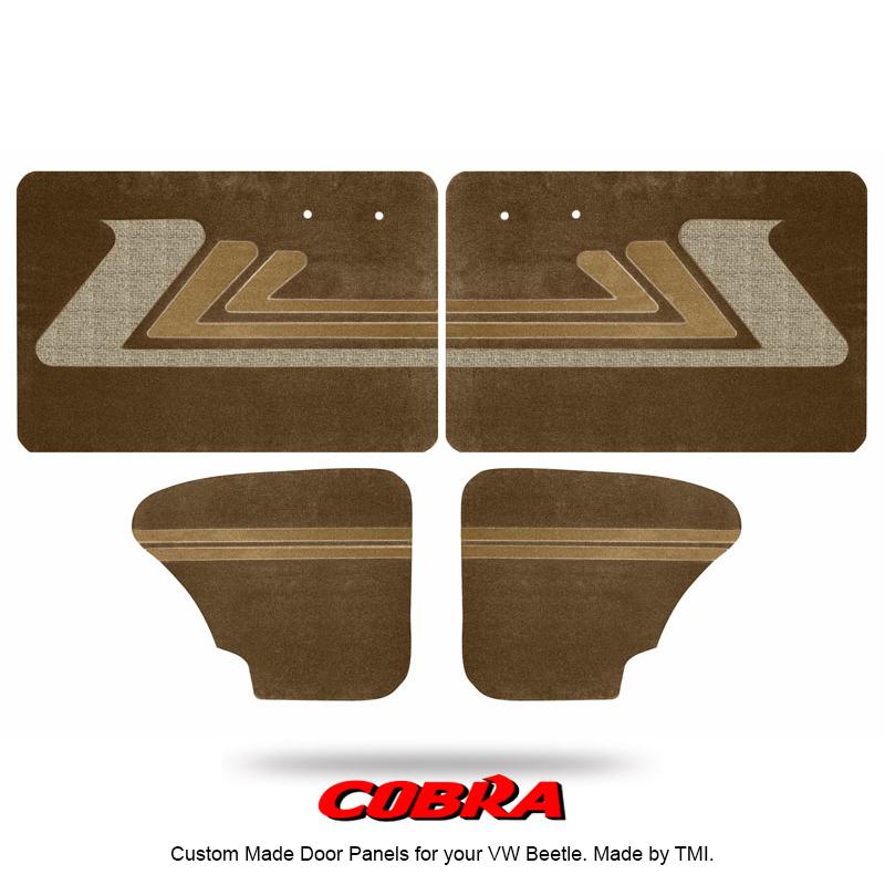 Vw Door Panels Full Set Cobra Graphic Select Colors