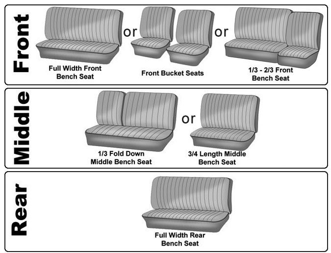 Vw type bus seat covers upholstery options jbugs