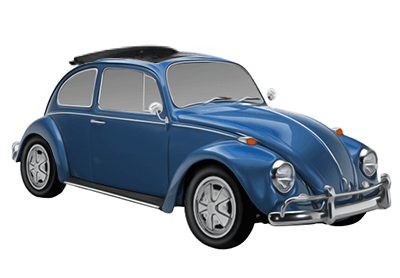 Original VW Rc Beetle GRC téléguidé 1:16 Volkswagen Motorsport 1h3099311
