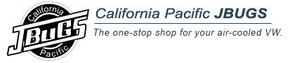 California Pacific. J-bugs, Interior Parts and Accessories