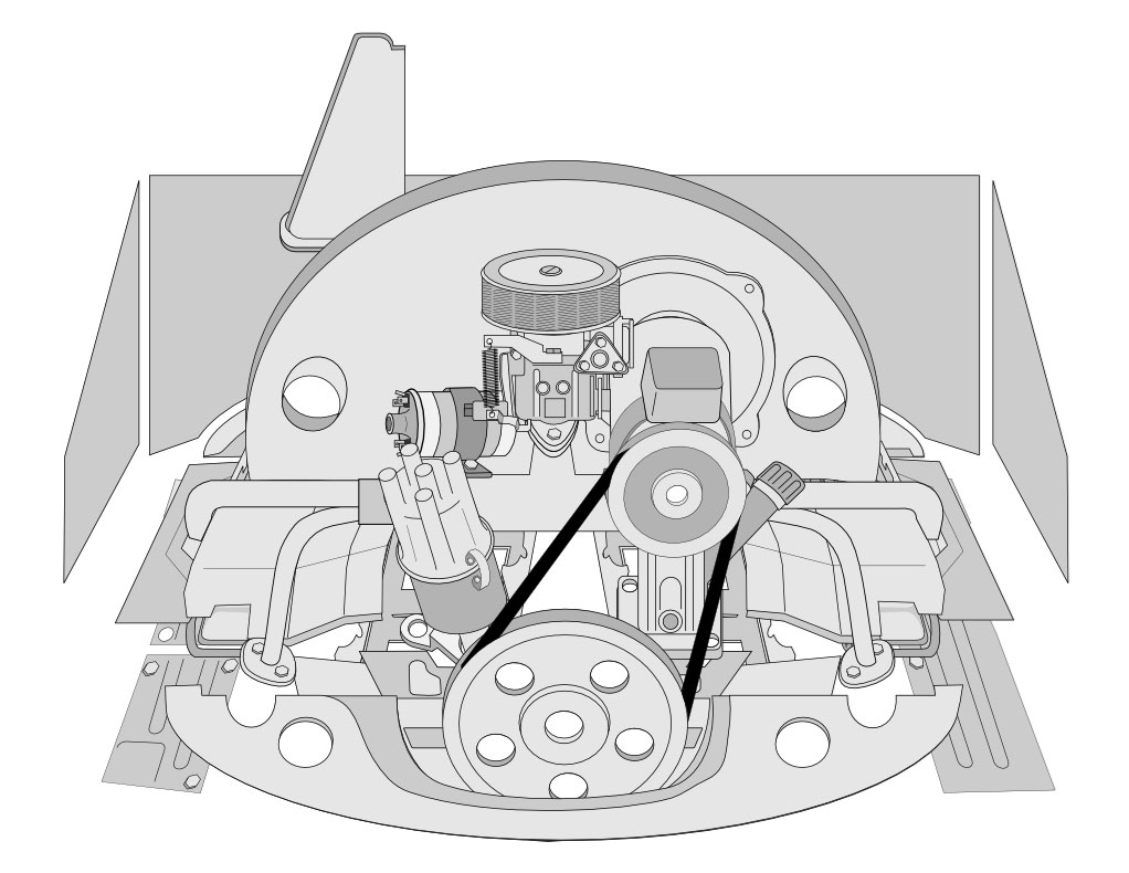 [TVPR_3874]  VW Tech Article: VW Engine Tin | JBugs | Vw Bug Engine Diagram |  | JBugs