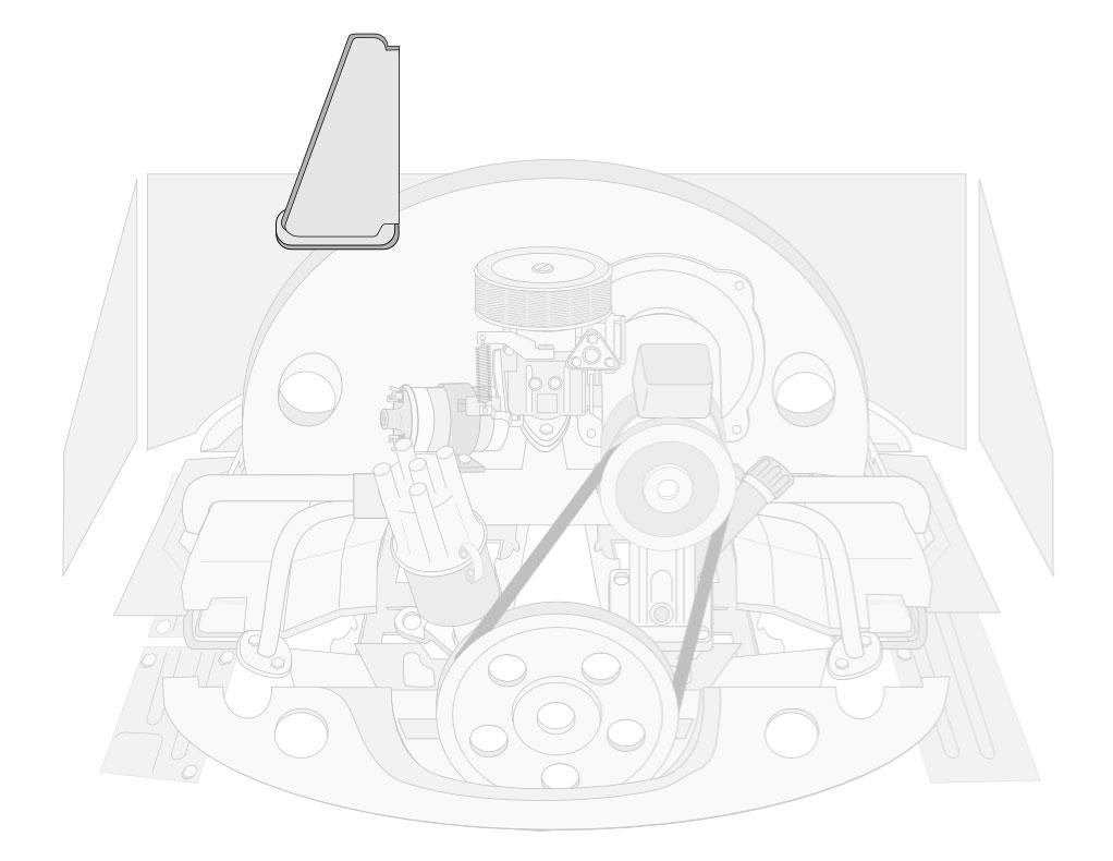 VW Engine Tin & Chrome: VW Parts | JBugs com