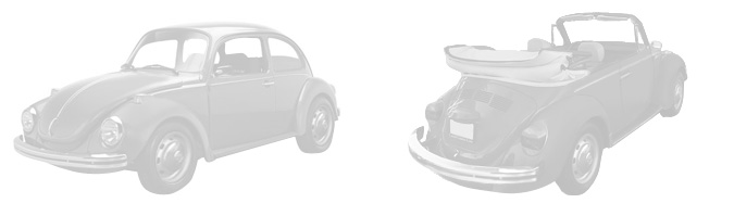 VW Super Beetle Parts